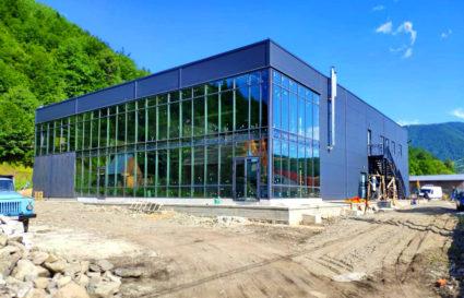 Будівництво нової броварні: Нове гніздо майже готове